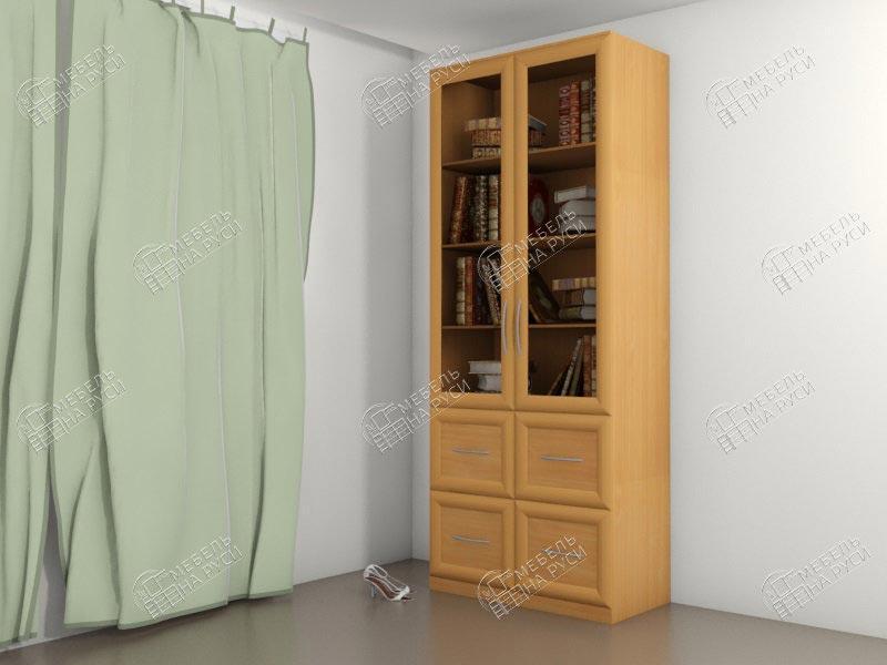 Библиограф двух дверный стеллаж - 4 шкафы книжные мебель на .